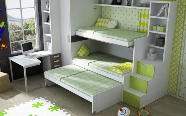 Система на три спальных места
