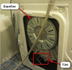 Определение места расположения нагревательного элемента