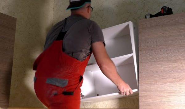 Демонтаж шкафчика