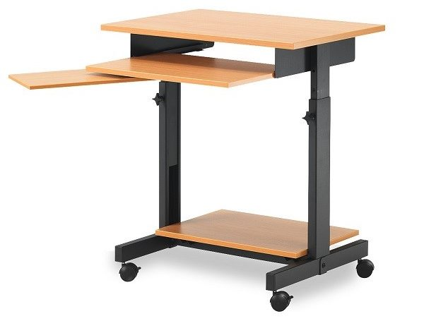 Столешницы, выполненные из ДСП, могут быть только прямоугольной формы