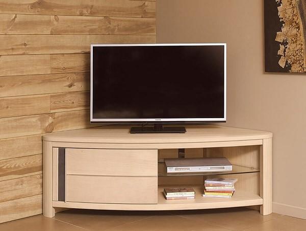 ЛДСП - материал, который будет поглощать акустику телевизора, как следствие, если вы с особенным трепетом относитесь к звуковому сопровождению фильмов и сериалов, то вам нужно выбрать другой материал