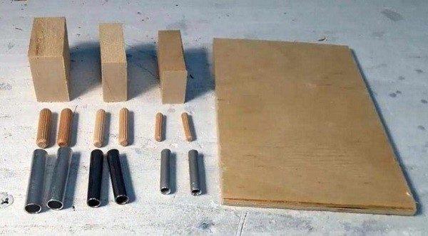 Расходные материалы для самодельного шаблона