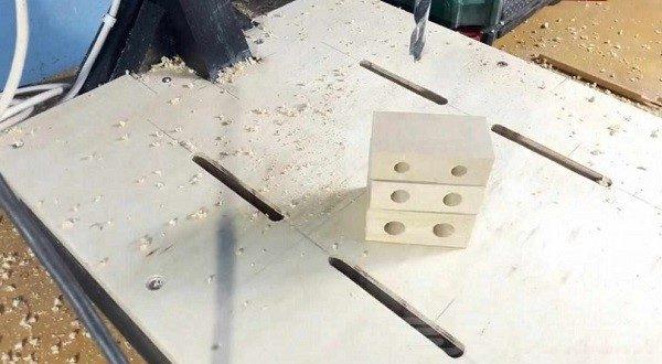 Как должны выглядеть деревянные заготовки с отверстиями