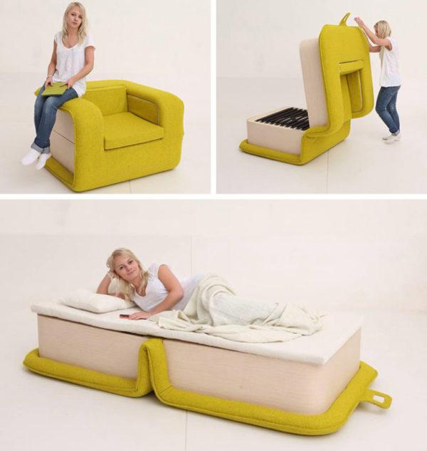Оригинальное кресло-кровать