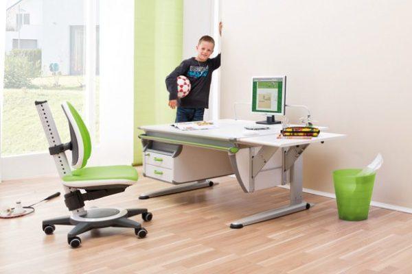 Современная мебель регулируется по высоте