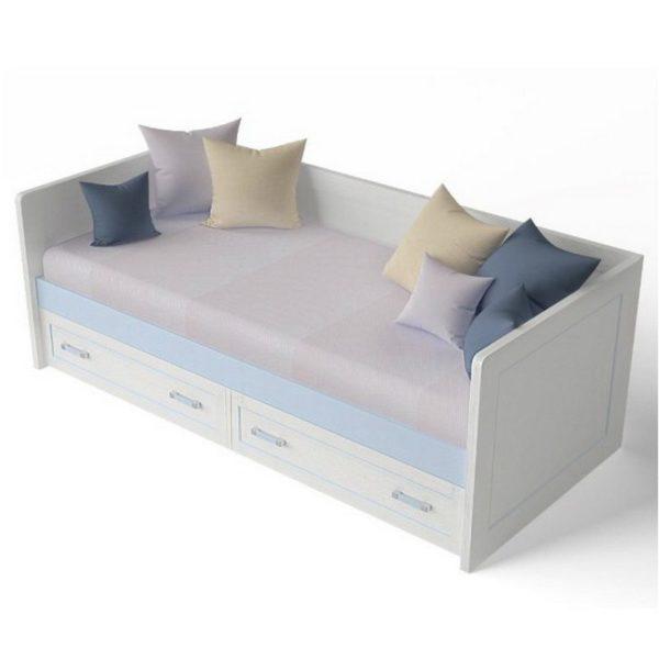 В сложенном виде диван-кровать отличается компактностью