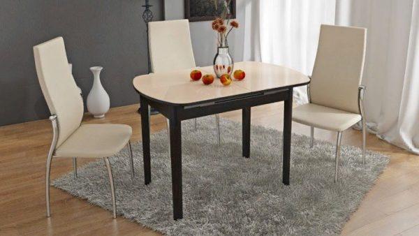 При желании, своими руками можно создать большой раскладной стол