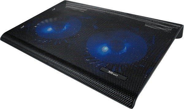 Охлаждающая подставка под ноутбук, которую можно приобрести в магазинах техники