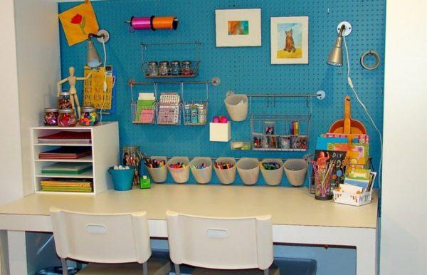 екции для хранения можно дополнить элементами для мелочей на рабочем столе