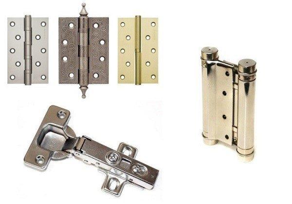 Петли – это обязательная деталь на шкафчике, обеспечивающая функционирование его дверцы