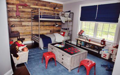 Оформить комнату для мальчика можно творчески