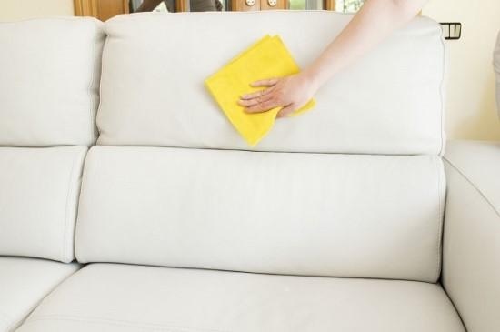 Диваны из эко-кожи чаще всего достаточно просто протереть влажной тряпкой или водой с мылом, однако, редко кто предпочитает оснащать гостиную мебелью из такого материала, так как она практически не вносит уют в обстановку