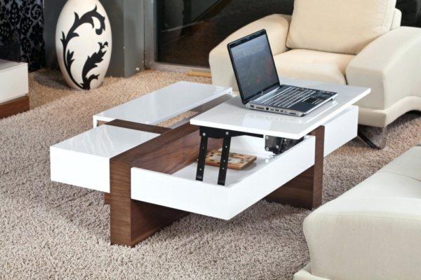 Журнальный столик в современном стиле