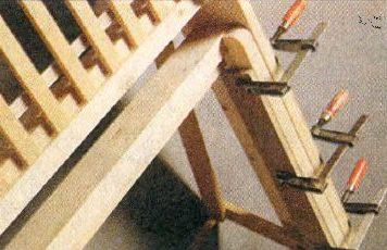 Струбцины позволяют добиться точности работ