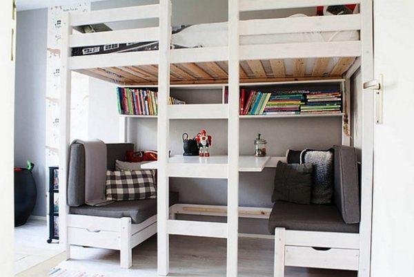 Компактная зона отдыха может использоваться в качестве столовой