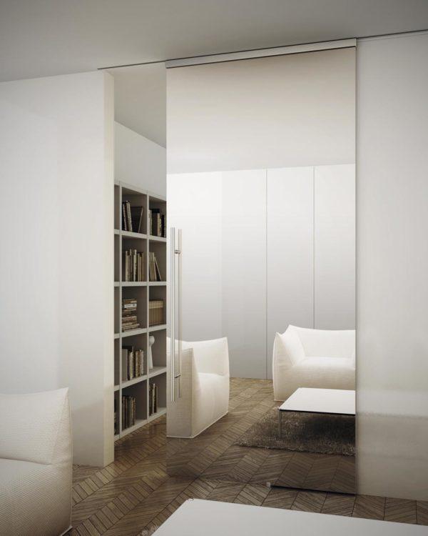 Раздвижная дверь для современного интерьера