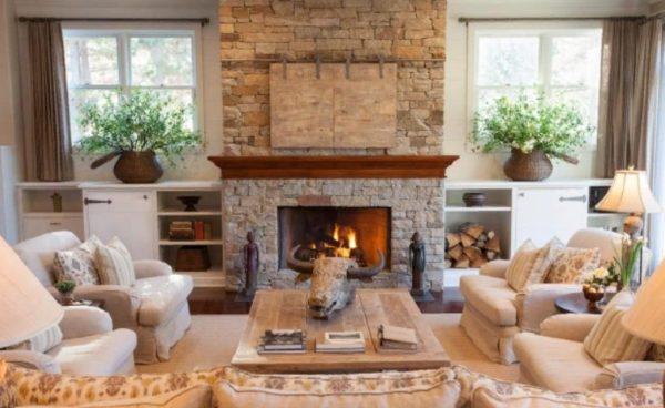 Ничто не сравнится с теплом домашнего дровяного камина