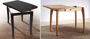 Раскладной стол с поворотной столешницей