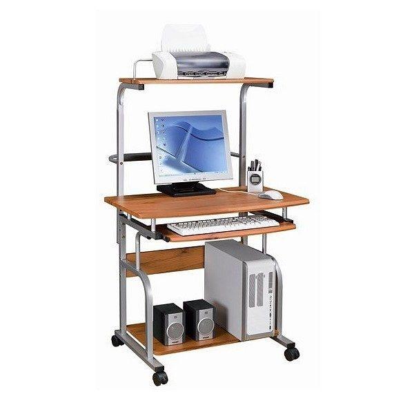Предмет мебели полного размера предусматривает полки для дополнительной техники