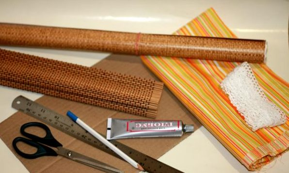 Набор для изготовления бамбукового изделия