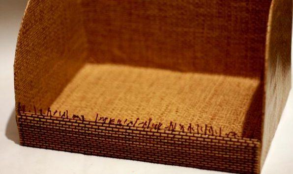 Далее обрабатывается передник хлебницы