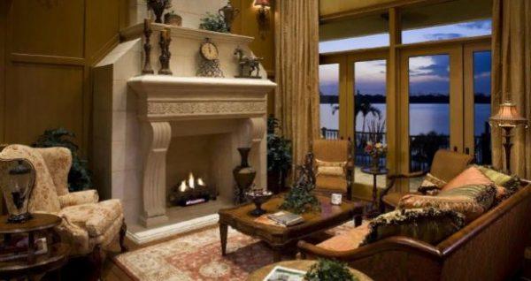 Самой популярной является отделка классического камина мрамором, поскольку такой камин будет выглядеть очень роскошно и нарядно