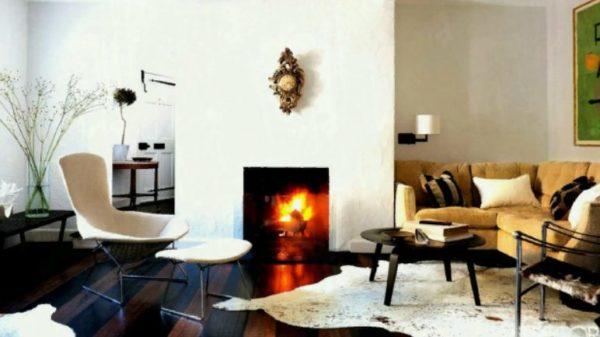 Газовый камин отличается повышенным КПД и легкостью интеграции как в городскую квартиру, так и в частный дом