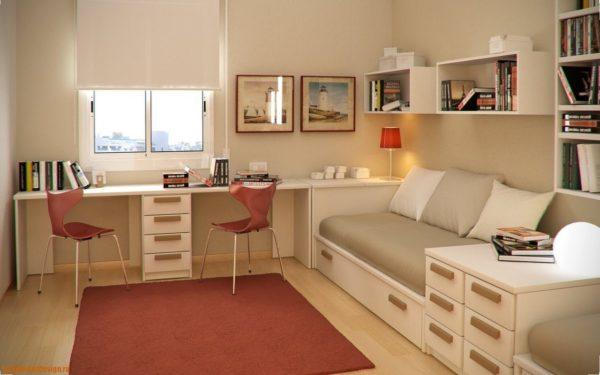 Модульная мебель – лаконичная и функциональная