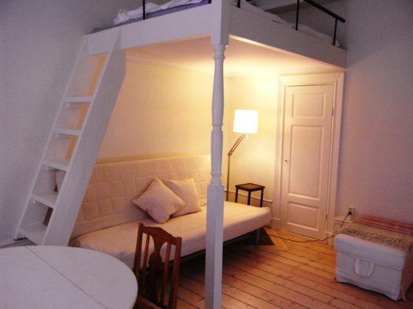 Интерьер в скандинавском стиле для малометражной квартиры