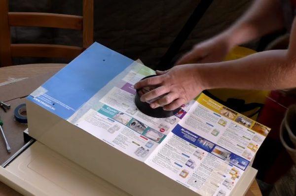 Изготовление бумажного шаблона