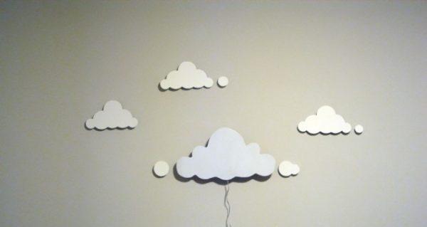 Бра в виде облаков