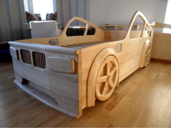 Детская мебель из дерева ручной работы