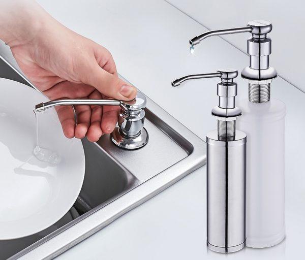 Дозатор жидкого мыла для мойки