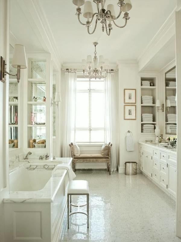 Французский стиль прованс в ванной