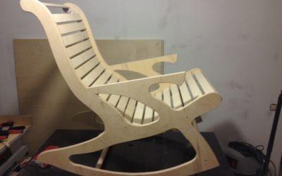 Готовое кресло-качалка