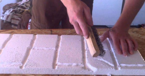 Изготовление панелей с имитацией кладки
