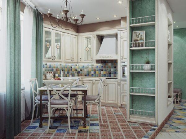 Керамическая плитка или керамогранит актуальны на кухне, в ванной комнате, прихожей