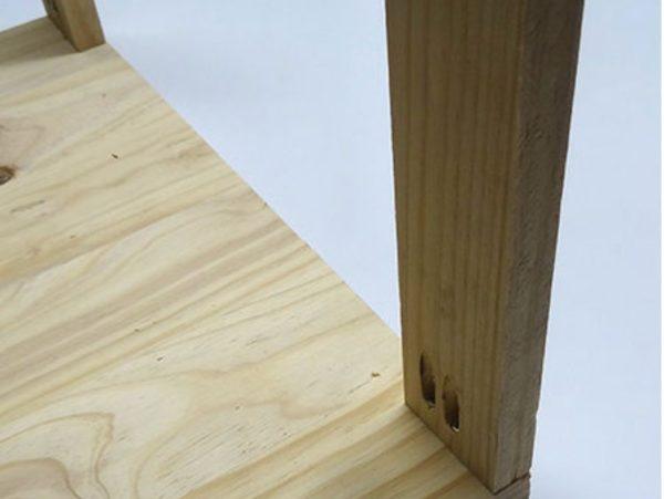 Крепление деревянной рейки
