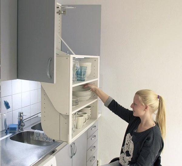 Лифт-система для кухонных шкафов