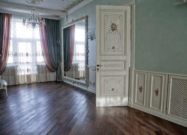 Межкомнатные двери в стиле прованс