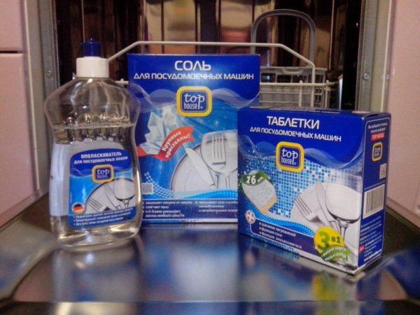 Моющие средства для посудомоечной машины