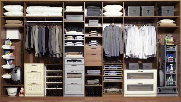 Наполнение шкафа