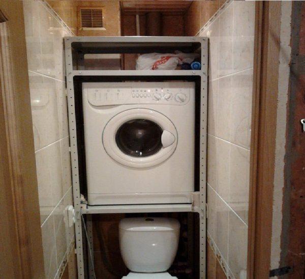 Не каждый шкаф сможет выдержать стиральную машину