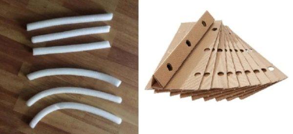Прокладки для углубления между сиденьем и спинкой