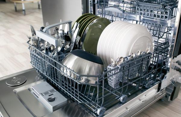 Широкая посудомоечная машина