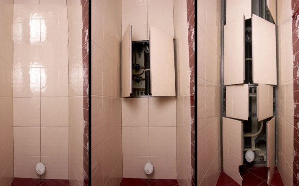 Шкаф поможет спрятать коммуникации