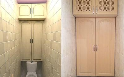 Шкафчик в туалет