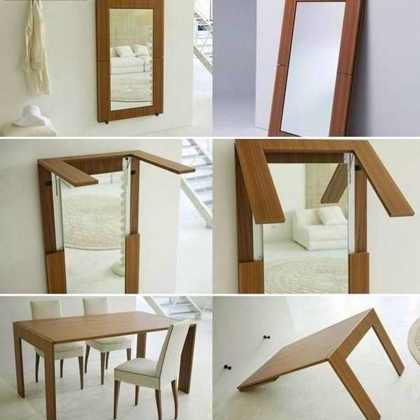 Стол-зеркало-трансформер
