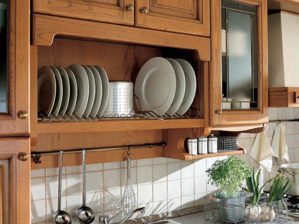 Сушилка для кухонного шкафа одноуровневая