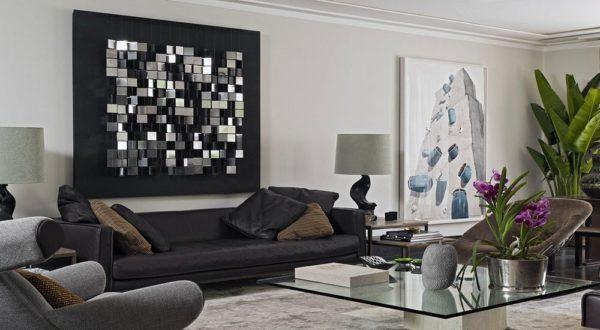Уникальной особенностью арт деко является геометричность узоров в отделке